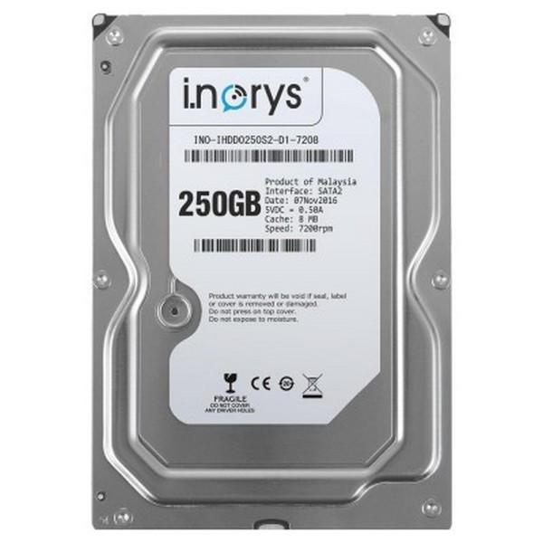Жорсткий диск внутрішній i.norys INO-IHDD0250S2-D1-7208