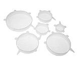 Многоразовые силиконовые крышки для хранения, фото 2