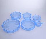 Универсальные силиконовые крышки для емкостей, фото 3