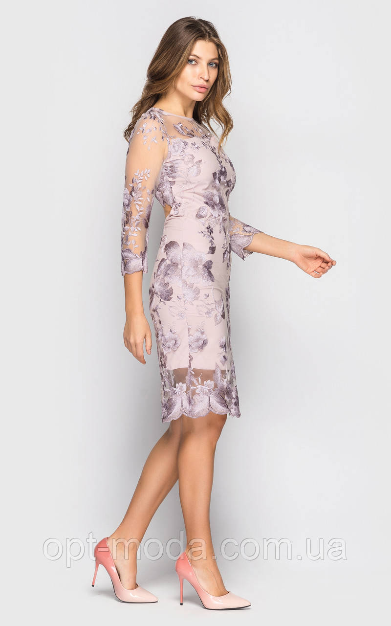 """Вечірній жіноче облягаюче плаття класичного крою """"Міссіссога"""""""