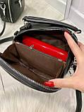 Женская сумка Star черная СТ11, фото 3