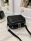 Женская сумка Star черная СТ11, фото 5