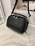 Женская сумка Star черная СТ11, фото 7