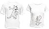 """Парные футболки """"Том и Джерри - 2"""""""