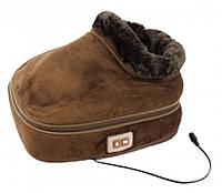Вибромассажер-грелка для ног 2 в 1 Warm Massager | Массажер для ног электрический