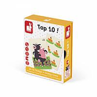 Настільна гра Janod Мемо Топ 10 (J02760)