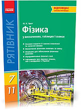 7-11 клас | Фізика у визначеннях, таблицях і схемах. | Кріт Ю. Є.