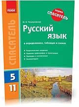 5-11 клас | Українська мова у визначеннях, таблицях і схемах | Тельпуховская Ю. Н.