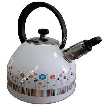 Чайник со свистком Gusto GT-1404-25/1 2.5 л
