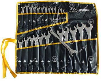 Сталь 48034 Набор комбинированных ключей CRV (25 шт) в чехле