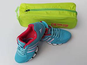 Чехол-сумка салатового цвета для хранения и упаковки обуви с прозрачной вставкой, длина 33 см