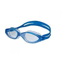 Широкие очки для подводного плавания голубые Arena