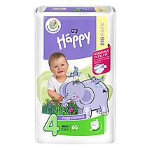 ПІДГУЗКИ HAPPY BELLA (BIG PACK) №4 (8-18 кг) 66 шт.