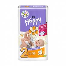 Підгузки HAPPY BELLA №2 (3-6 кг) 38 шт.