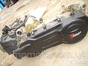 """Двигатель в сборе 150cc 157QMJ (13"""" колесо) под два амортизатора оригинал ТММР, фото 3"""
