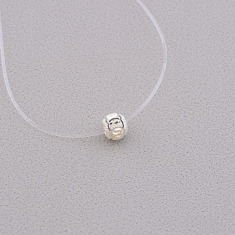 Підвіска жіноча на шию SUNSTONES 40 см Срібло 925