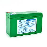 Аккумуляторная батарея литиевая QiSuo 12V 10A с элементами Li-ion 18650  (150X64,5X97,7)