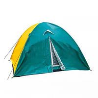 Палатка для кемпинга 3-х местная водостойкая легкая