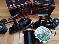 АКЦІЯ Катушка Flagman Force Active Carp 6000 (2 шт) + Волосінь Bratfishing CARP YAMATO (1000 м)