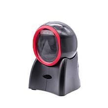 Сканер штрих-коду Prologix PR-BS-217 (1D/2D, дротовий, настільний, швидке сканування, автоматичне