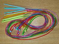 Набор крючков пластиковых для тунисского вязания (12 шт.)