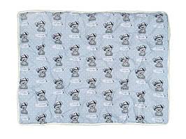 Детское силиконовое одеяло Kondor 110х140, бязь, антиаллергенное волокно