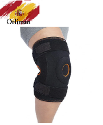 Наколінник, бандаж на коліно з бічної стабілізацією Oneplus OPL480 (ортез, фіксатор на колінний суглоб)