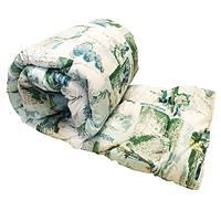 Одеяло Lotus flower холлофайбер 145/210 голубое природа