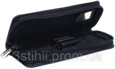 Футляр для ручек Tony Perottіi Italico 2571-it nero кожаный Черный