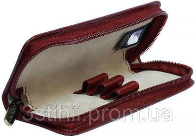 Футляр для ручок Tony Perottii Italico 2571-it rosso шкіряний Червоний