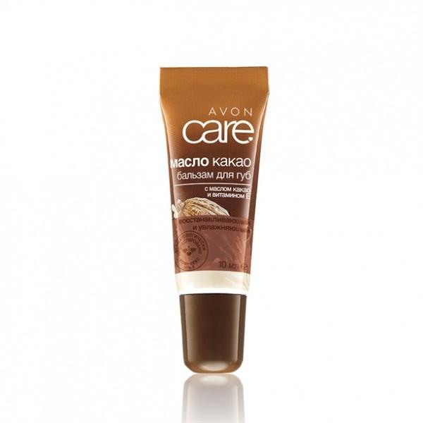 Бальзам-масло для губ з маслом какао. 10мл.
