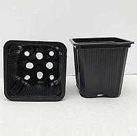 Горщик - стаканчик для розсади 6,5 х 6,5 х 6,5 см / 0,2 л, фото 1