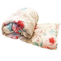 Одеяло Lotus flower холлофайбер 145/210 розовые цветы