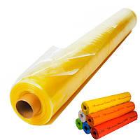 Пленка тепличная 6м х 50м 100мк  2х сезонная уф-стабилизированная полиэтиленовая для теплицы, парника, желтая., фото 1