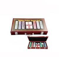 Покерный набор на 300 фишек и 2 колоды игральных карт