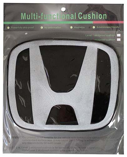 Антискользящий силиконовый коврик на торпедо с логотипом Honda