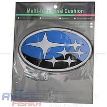 Антиковзаючий силіконовий килимок на торпедо з логотипом Subaru
