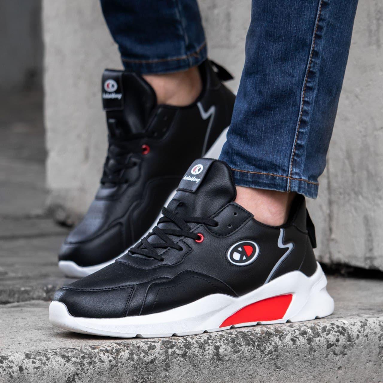Мужские кроссовки в стиле (черные)