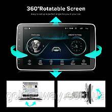Автомагнитола 1DIN Pioneer YT9216B со съемсным  экраном 10 дюймов, Android 9.1, память 2/32Гб, GPS WiFi, BT
