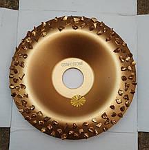 Альфа диск. Шлифовальный круг. Круг для шлифовки. Заоваленый крупный.