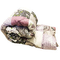 Одеяло Lotus flower холлофайбер 145/210  сиреневое абстракция