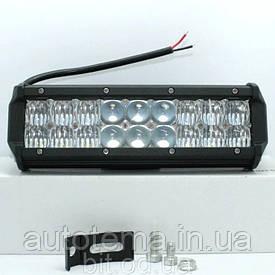 Автомобільна світлодіодна LED фара 9.5 см 33см
