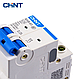 Модульный автоматический выключатель CHINT Electric NXB-63 2P 25А 6кА х-ка C для крепления на DIN-рейку, фото 3