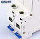 Модульный автоматический выключатель CHINT Electric NXB-63 2P 25А 6кА х-ка C для крепления на DIN-рейку, фото 4