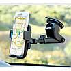 Универсальный держатель телефона в авто  на присоске (длинная ножка) Holder SX-083, фото 4