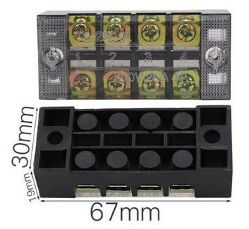 Клеммная  колодка ТВ-2504, фото 2