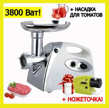 Электрическая мясорубка с соковыжималкой 5в1. Электро мясорубка для дома