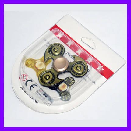 Спинер spinner іграшка метал, фото 2
