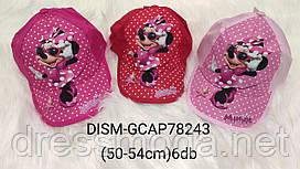 Кепки для девочек Minnie 50,52,54 p.p.