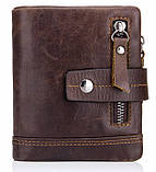 Мужской кошелек портмоне Tribe N8124 из натуральной кожи, фото 3